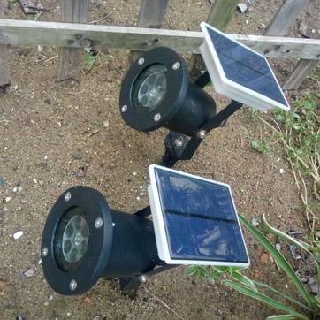 Сонячний різдвяний проектор Light